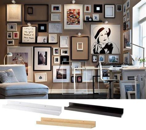 ikea wall ledge details about ikea picture ledge 22 quot floating shelf black