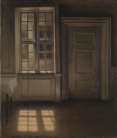 Home Interior Prints by Interior Sunlight On The Floor Vilhelm Hammershoi Tate