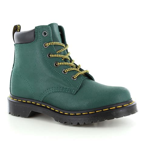 dr martens 939 hiker womens suede ankle boots teal turquoise