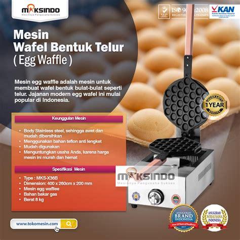 Harga Tepung Egg Waffle by Jual Mesin Egg Waffle Wafel Bentuk Telur Di Semarang