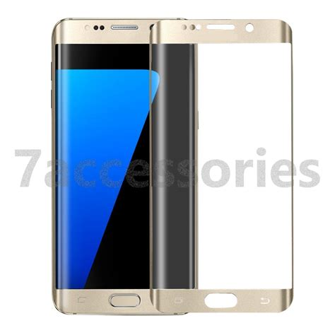 Tempered Glass Warna Samsung S8 Layar curved tempered glass screen protector for samsung galaxy s8 s7 s6 edge plus ebay