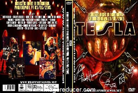 Tesla Song Acoustic Tesla Live At In Mineapolis 03 12 2004 Dvd
