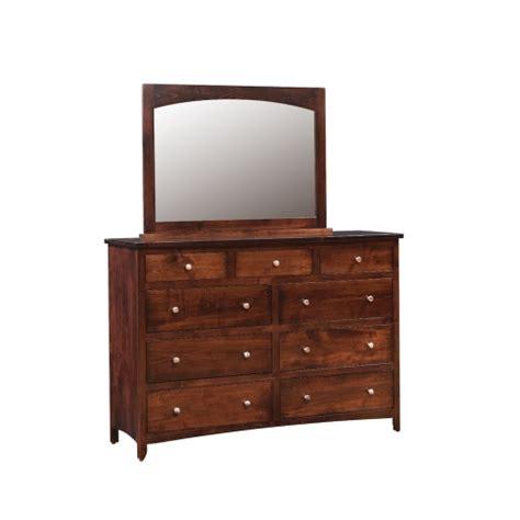 Country Mission Mule Dresser Mirror - roxbury mission mule dresser and mirror