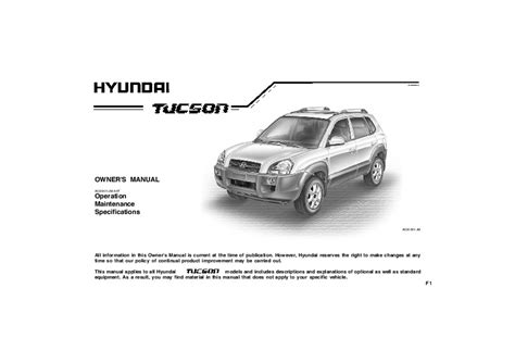 online auto repair manual 2008 hyundai tucson auto manual 2008 hyundai tucson ix35 owners manual