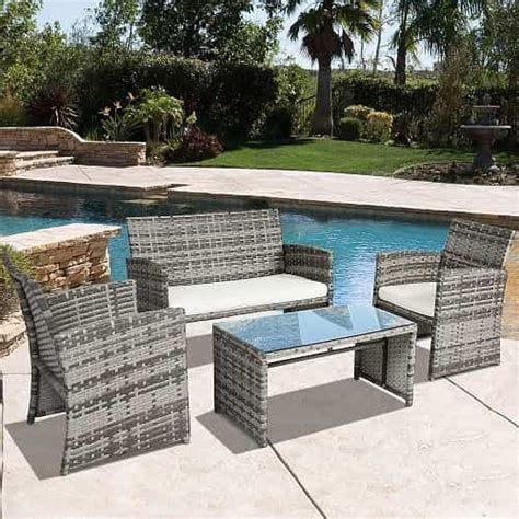patio furniture 500 10 most adorable gray wicker patio furniture set 500