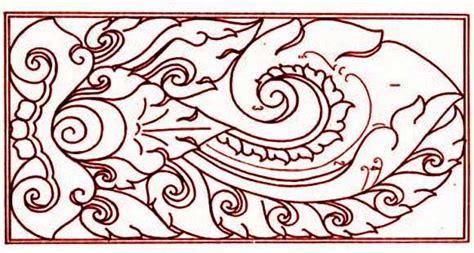 ragam motif hias klasik tradisional seni rupa