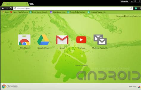 themes for android chrome 8 free android chrome themes