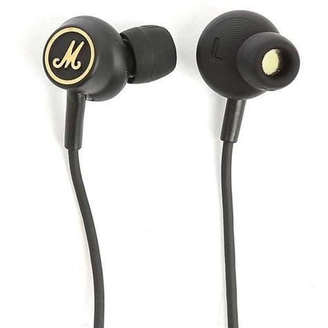 Headphones Marshall Mode marshall mode eq in ear headphones black gold sportique
