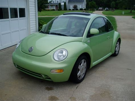 lime green volkswagon beetle stick shift also want a sun