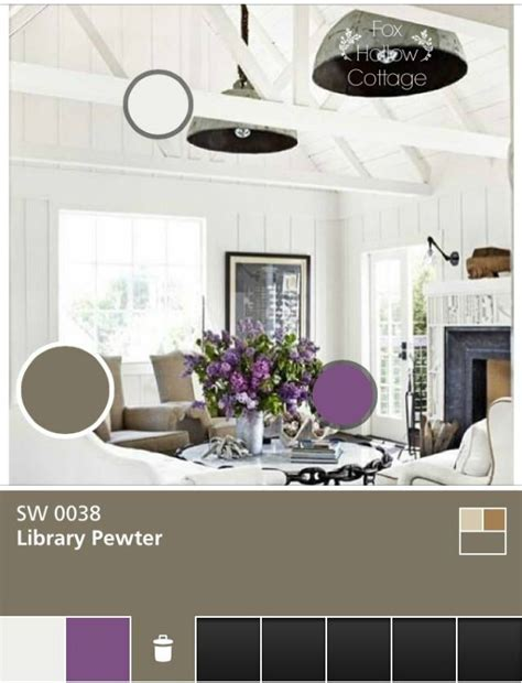 scratching the 10 year redecorating itch with sherwin williams paints fox hollow cottage