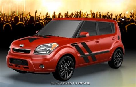 Kia Soul Hamster Edition New Kia Soul Hamstar And White Tiger Special Editions