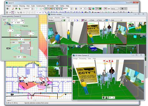cctv layout design software cctv cad design software mihyk