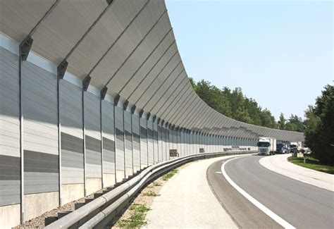 highway noise barrier google search concrete fence