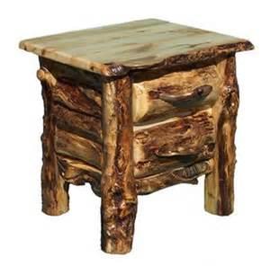 Log Side Table End Tables Archives Woodland Creek Furniture