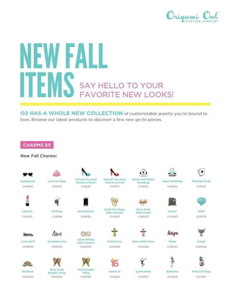 Origami Owl Fall - 17 best our new items images on living