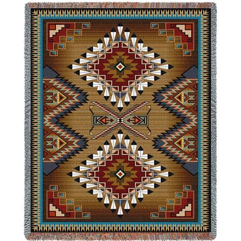 Southwest Rugs And Blankets by Southwest Sler Cornflower And Large Blanket
