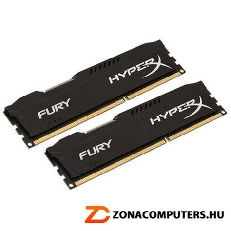Kingston Hyperx Fury Ddr4 2400 8gb Hx424c15fbk2 8 Black1 kingston ddr4 kit 2x4096mb 2400mhz 8gb hx424c15fbk2 8