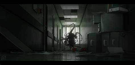 here s the concept art that inspired the robot from the h p lovecraft s the call of cthulhu concept art by