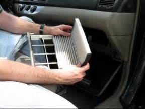 cabin air filter replacement toyota camry