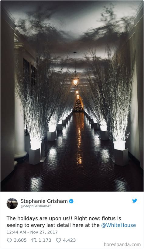 trump white house decorations 30 hilarious reactions to melania trump s creepy white