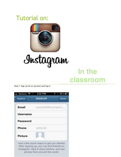 tutorial sign up instagram tutorial 20on 20 instagram