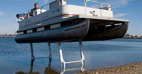 pontoon sea legs for sale pontoon legs pontoon deck boat magazine