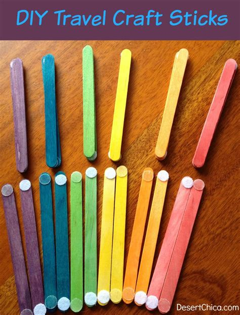 diy crafts with popsicle sticks diy travel activity craft sticks