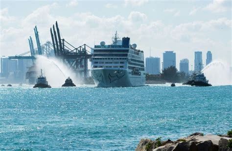 boat from miami to cuba first us to cuba cruise ship in decades sets sail daily