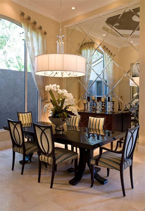 Wall Mirrors For Dining Room Add Style And Depth To Your Home With Mirrored Walls