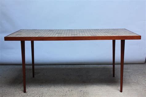 Tile Top Dining Room Tables by Martz For Marshall Studios Tile Top Dining Table For Sale At 1stdibs