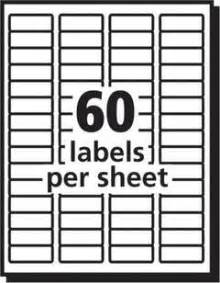 Avery 18695 Template by Avery Easy Peel White Laser Address Labels 23 X 1 34 Box