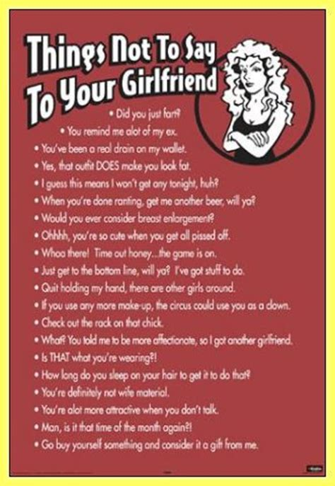 7 Things Not To With Your Boyfriend by Sweet Things To Say To Your Quotes Quotesgram
