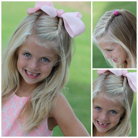 back to school hairstyles for kindergarten easy girls hairstyles for back to school
