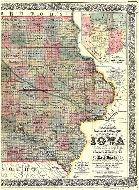 of iowa map the usgenweb archives digital map library iowa maps index