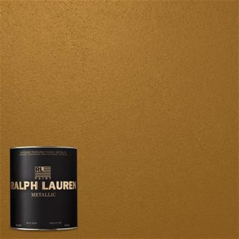 ralph 1 qt cloth of gold metallic specialty finish interior paint me137 04 the home depot