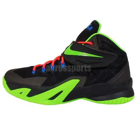 basketball shoes for youth nike soldier viii gs 8 black green youth boys