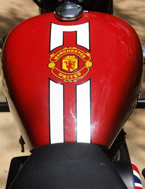 Custom Manchester United Logo chopped classic for manchester united fan xlnc customs