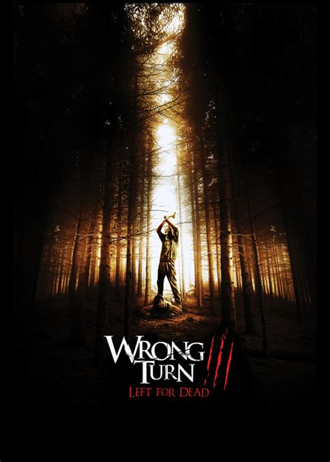 film horror wrong turn icons of fright news and updates poster for wrong turn 3