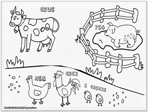 old macdonald had a farm coloring pages coloring pages