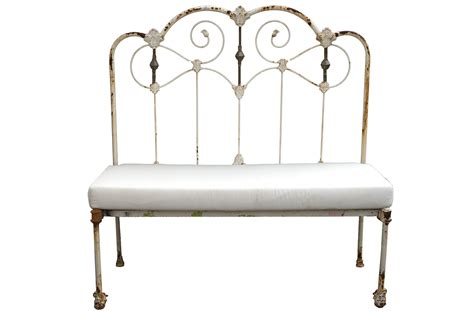 iron bed bench symmetry proportion in designing rooms le barn