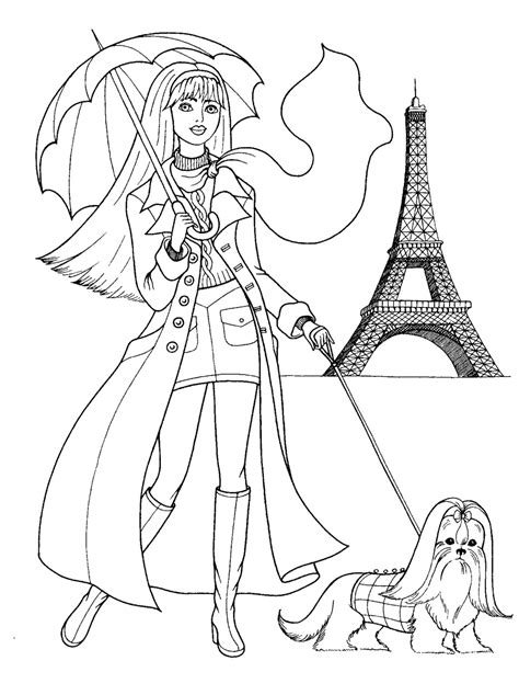 cool coloring pages games fashion coloring pages fashionable girls picture