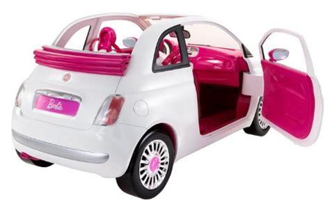 barbie cars with back opiniones de barbie r1623 y su fiat 500 mattel