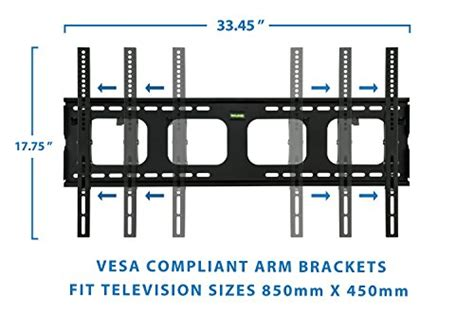 Telescopic Tv Bracket 2mm Thick 200 X 200 Pitch For 17 Best Seller mount it tilting tv wall mount bracket for samsung sony