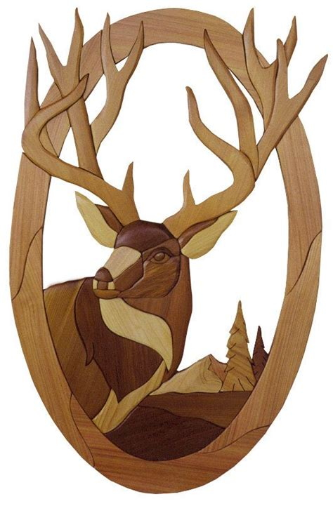 deer patterns and wood wall design on pinterest 233 best images about intarsia on pinterest