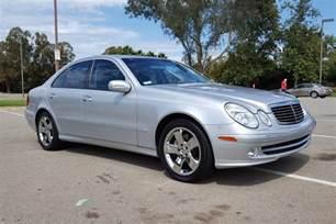 E500 Mercedes 2004 Mercedes E500 Sedan 186845