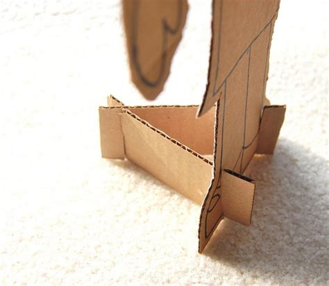 diy cardboard crafts 14 best images about cardboard paper dolls and stands on