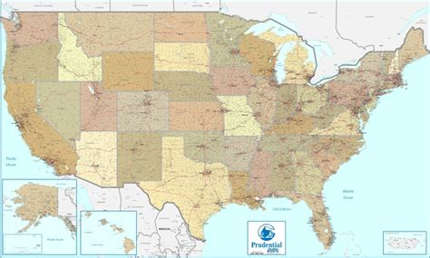 large us map for wall united states wall maps