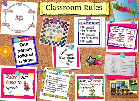 Classroom Layout Rules | 5 easy activities to help set rules and expectations