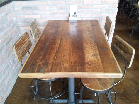 rustic appeal  plank dining tables wood table