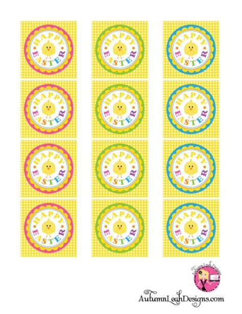 printable easter labels free free easter printables
